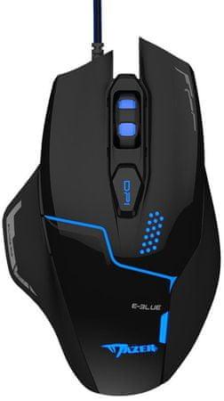 E-Blue Mazer V2, černá (EMS626BKAA-IU)
