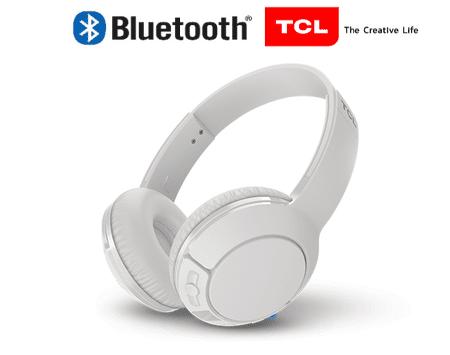 TCL MTRO200BT Bluetooth slušalke, zložljive, bele