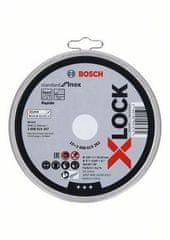 BOSCH Professional rezalna plošča X-LOCK Standard for Inox 125x1x22.23mm, ravna (2608619262)