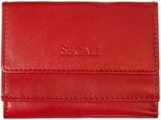 Segali Dámská kožená peněženka SEGALI SG 1756 nappa červená
