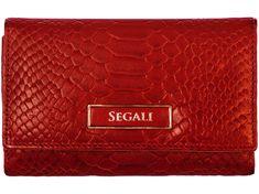 Segali Dámská kožená peněženka SEGALI 910 19 704 červená