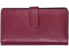 Segali Dámská kožená peněženka SEGALI 3489 rio magenta