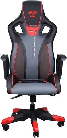 E-Blue krzesło do gier Cobra III, czerwony
