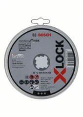 BOSCH Professional Ploča za rezanje X-LOCK Standard for Inox 125x1x22.23mm, ravna, 10 komada (2608619267)