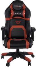 E-Blue krzesło do gier Cobra Racing, czarny/czerwony