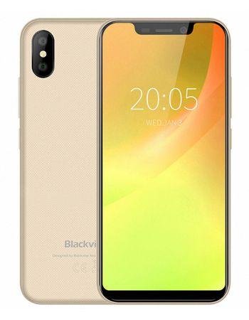 iGET blackview A30 mobilni telefon, 2GB RAM, 16GB, 4x1,3 Ghz, dual SIM, android, zlat + Darilo: etui