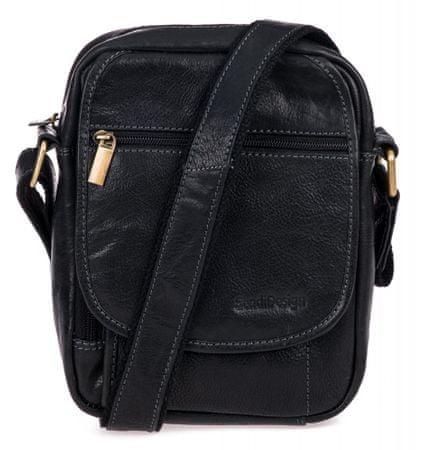 Sendi Design CT-703 moška torba za nošenje čez ramena, črna