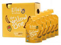 Ella's Kitchen Ovocné pyré - Yellow One (Banán) - 5 ks