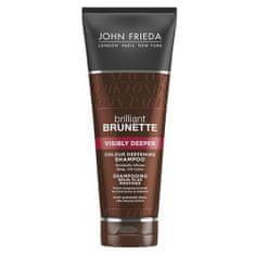 John Frieda Rozjasňující šampon pro hnědé odstíny vlasů Brilliant Brunette (Visibly Deeper) 250 ml