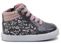Geox dívčí kotníková obuv B GISLI GIRL