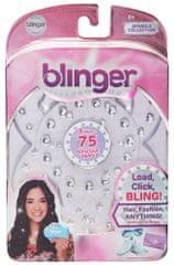 zestaw uzupełniający Blinger: Kolekcja diamentowa 75 kamieni, białe