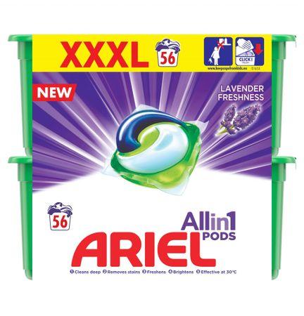 Ariel Ariel Lavender 3az1-ben Mosókapszula, 56 Mosáshoz
