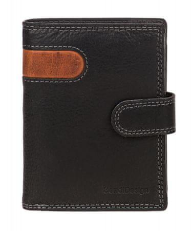 Sendi Design pánská peněženka 5704L COW černá