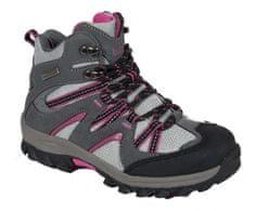 Bugga Celoroční treková dětská obuv - růžová