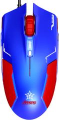 E-Blue Captain America, modrá (EMS613BLAA-IU)