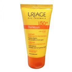 Uriage Opalovací krém na obličej pro citlivou pleť SPF 50+ Bariésun (Cream Very High Protection) 50 ml
