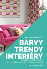 Bastlová Iva: Barvy, trendy, interiéry - Inspirativní průvodce při výběru barev do vašeho domova