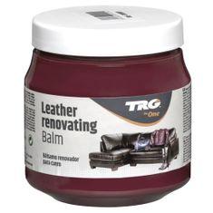 TRG One Červený Krém na koženú sedačku Leather Renovating Balm - Cherry 185