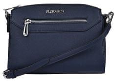 FLORA & CO Dámska crossbody kabelka F6541 Bleu