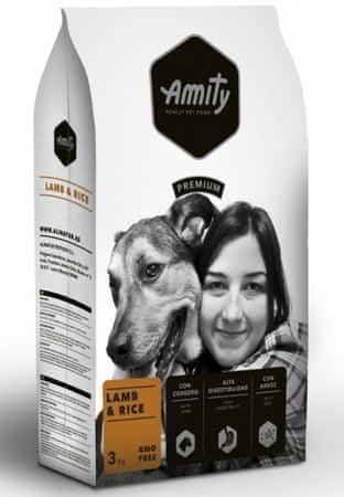 Amity Premium dog Lamb & Rice hrana za pse, 3 kg