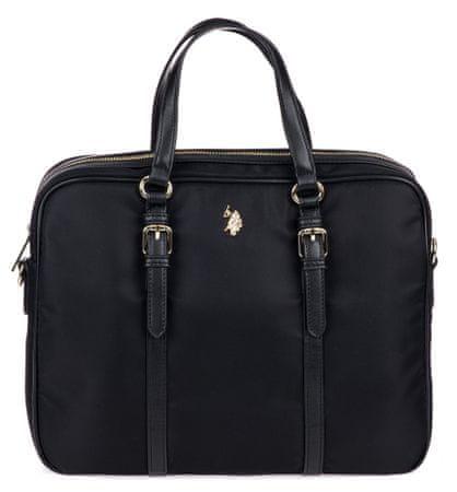 U.S. Polo Assn. Houston Business bag ženska torbica, črna