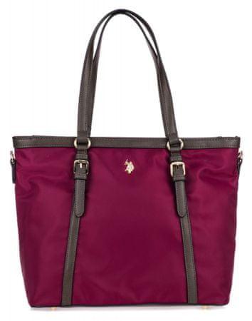 U.S. Polo Assn. Houston Shopping ženska torbica, boja vina