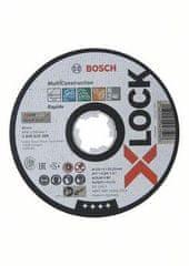 BOSCH Professional X-LOCK Multi Material rezna ploča, 125x1x22.23, ravna, (2608619269)