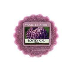 Yankee Candle Illatos viasz aromalámpa Virágos bolgogság (Lovely Kiku) 22 g