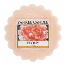 Yankee Candle Vonný vosk do aromalampy Pivoňka (Peony) 22 g