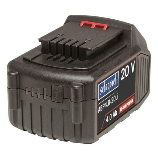 Scheppach Li-Ion baterie - 20 V, 4 Ah (ABP4.0-20Li)