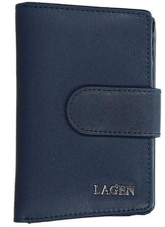 Lagen Női bőr pénztárca 50313 D.Blue