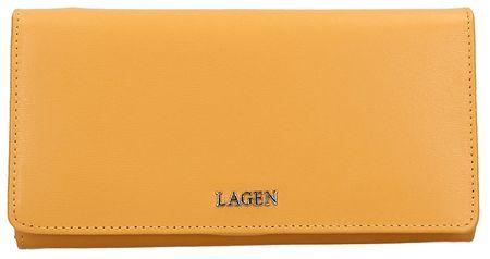 Lagen Ženska usnjena denarnica 50310 G. Nugget