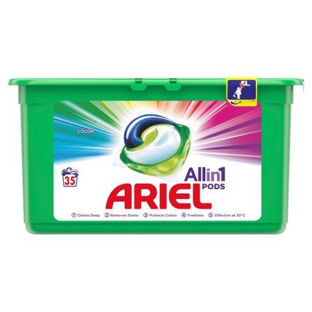 Ariel kapsule za pranje perila Color 3 in 1, 35 ks