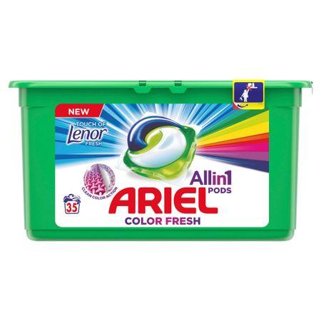 Ariel kapsule za pranje Touch of Lenor 3 in 1, 35 kosov