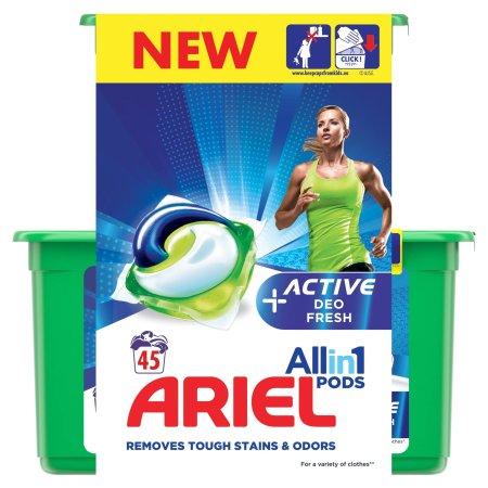 Ariel Gélkapszulák Active Sport 3 az 1-ben 45 db