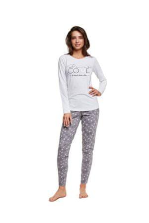 Henderson Dámské pyžamo 37515 Happy, šedá, M