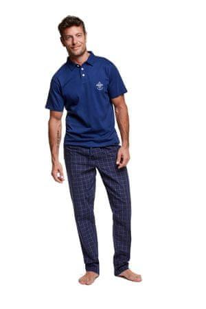Henderson Férfi pizsama 37297 Vote, sötét kék, M