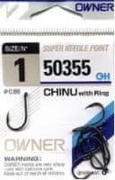 Owner Rybářské háčky Owner s očkem 50355