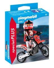 Playmobil 9357 Motokrosový závodník