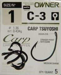 Owner Rybářské háčky Owner s očkem C-3 Carp