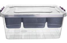 Hobby Life Box multi obdĺžnik, priehradky, 20 l