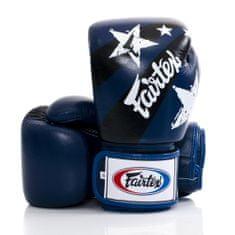"""Fairtex Boxerské rukavice Fairtex """"Nation Prints"""" BGV1 - modré"""