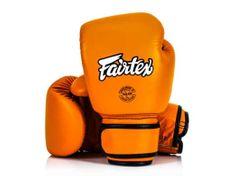 Fairtex Fairtex Boxerské rukavice BGV16 - oranžové