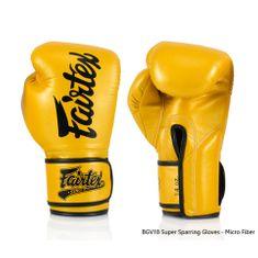 Fairtex Boxerské rukavice Fairtex BGV18 - gold