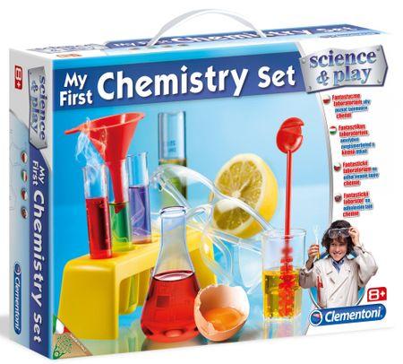 Clementoni Otroški laboratorij - moj prvi kemični komplet