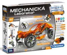 Clementoni Mechanické laboratórium - Autá, 50 modelov, 250 dielikov