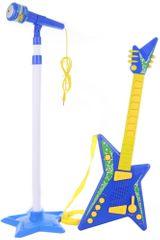Lamps kitara in mikrofon, baterije
