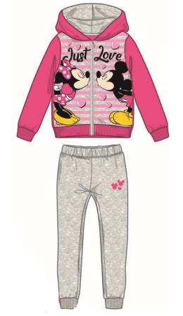 Disney by Arnetta dívčí tepláková souprava Minnie 122 sivá
