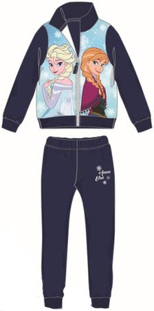 Disney by Arnetta dívčí tepláková souprava Frozen 122 modrá