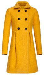 Smashed Lemon Damski płaszcz 19660 Mustard